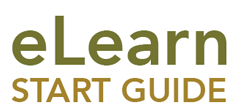 eLearn Start Guide