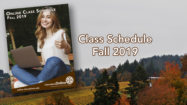 Fall 2019 slide to class schedules